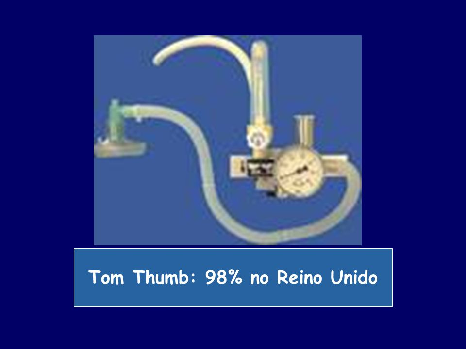 Tom Thumb: 98% no Reino Unido