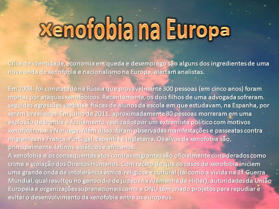 Xenofobia na Europa