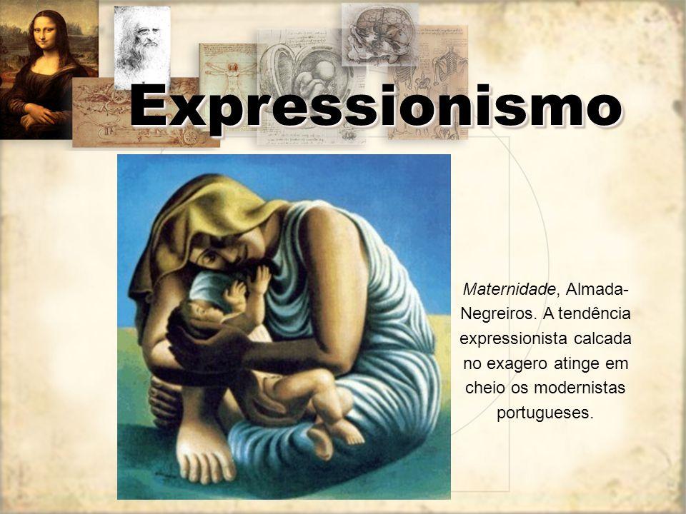 Expressionismo Maternidade, Almada-Negreiros.