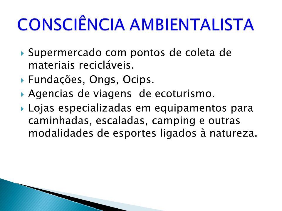 CONSCIÊNCIA AMBIENTALISTA