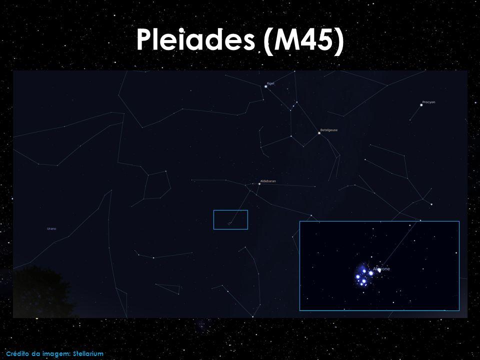 Crédito da imagem: Stellarium