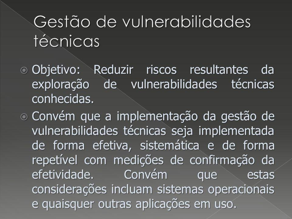 Gestão de vulnerabilidades técnicas