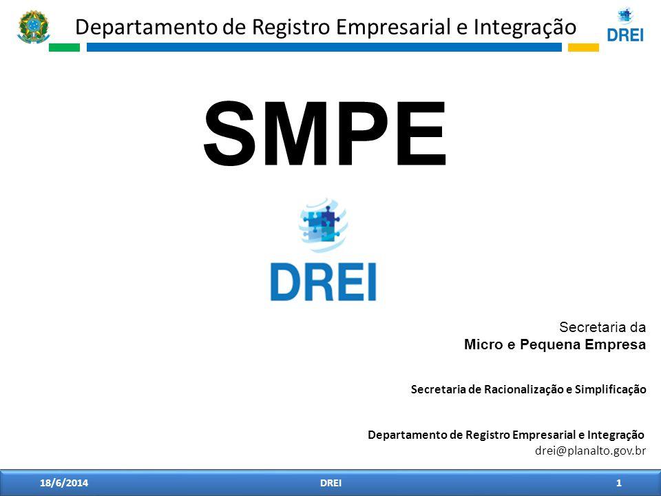 SMPE Secretaria da Micro e Pequena Empresa