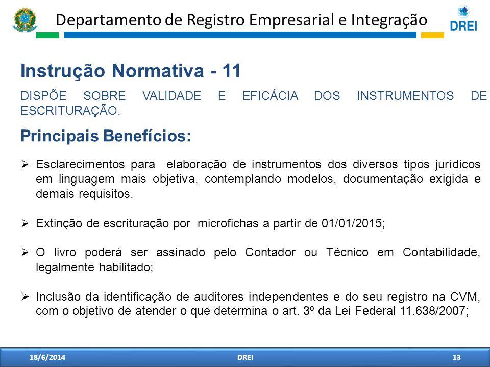 Instrução Normativa - 11 Principais Benefícios: