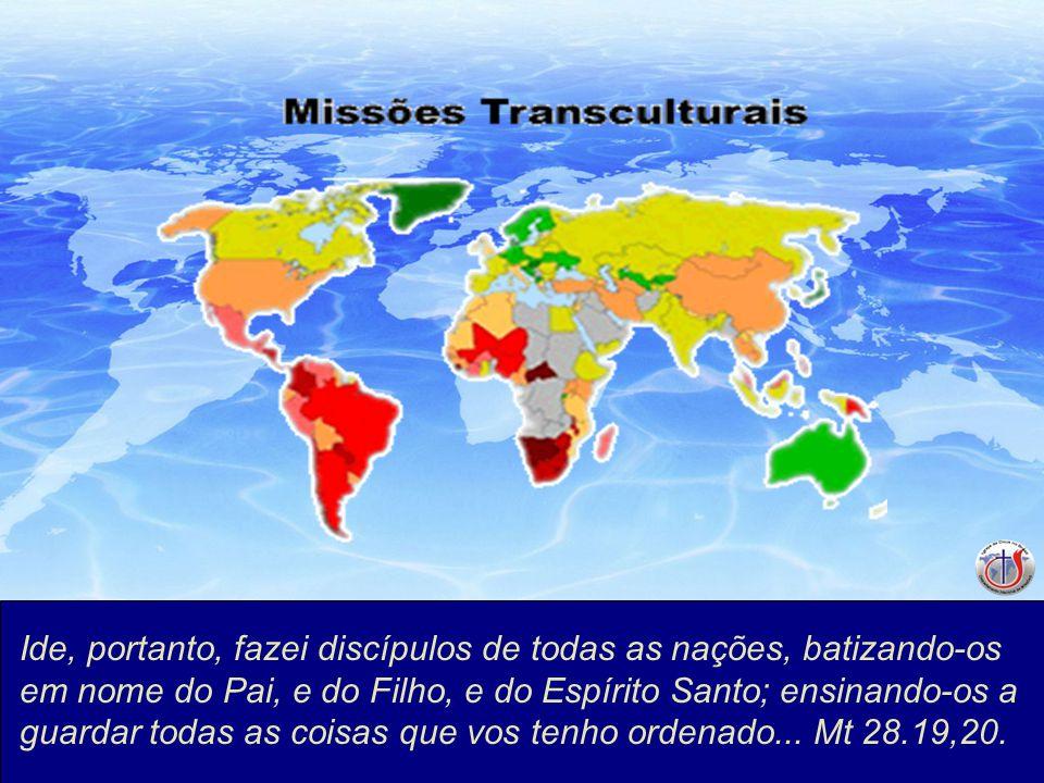 Ide, portanto, fazei discípulos de todas as nações, batizando-os