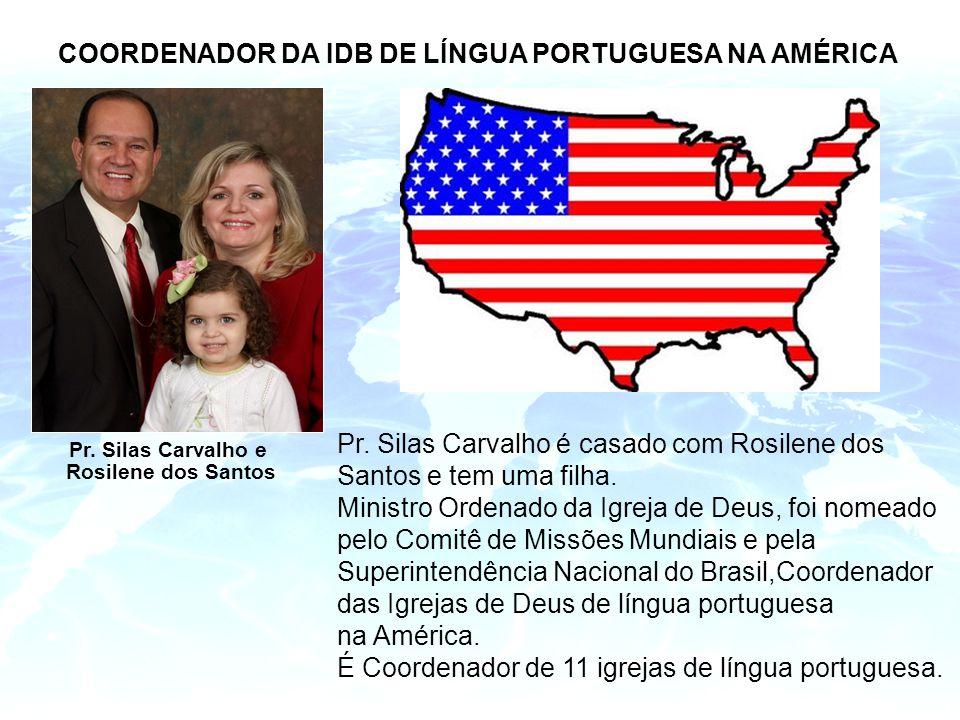 COORDENADOR DA IDB DE LÍNGUA PORTUGUESA NA AMÉRICA