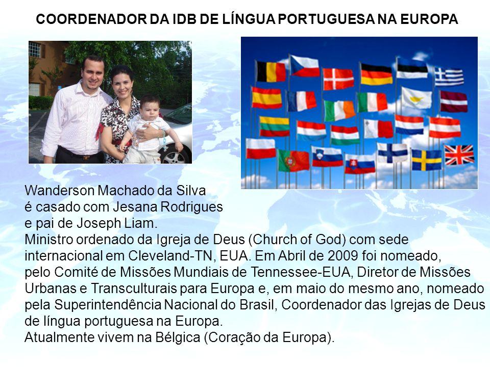 COORDENADOR DA IDB DE LÍNGUA PORTUGUESA NA EUROPA
