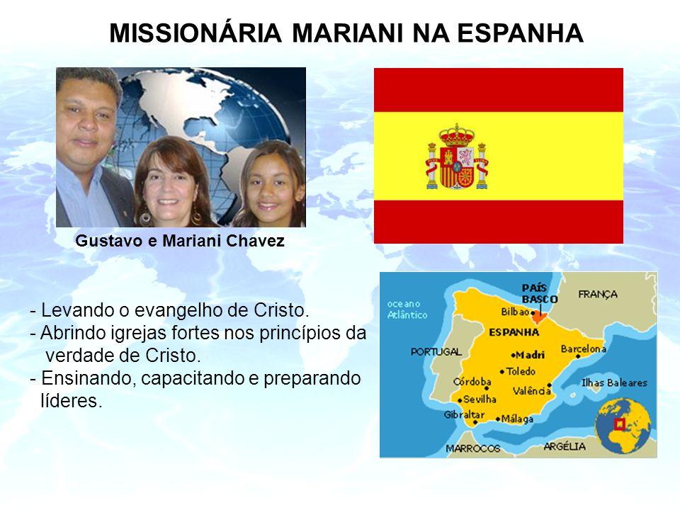 MISSIONÁRIA MARIANI NA ESPANHA