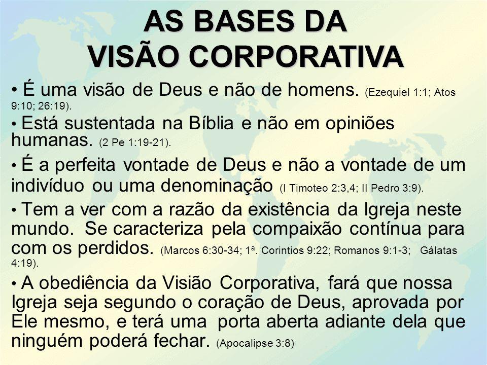 AS BASES DA VISÃO CORPORATIVA