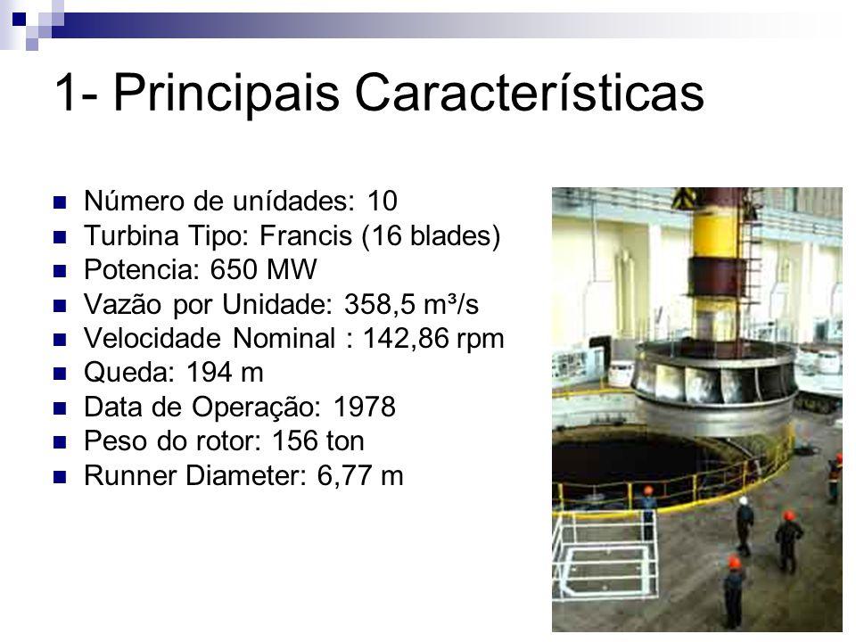 1- Principais Características