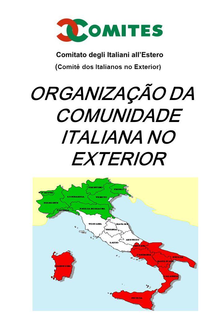 ORGANIZAÇÃO DA COMUNIDADE ITALIANA NO EXTERIOR