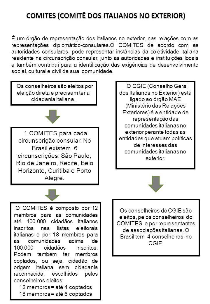 COMITES (COMITÊ DOS ITALIANOS NO EXTERIOR)