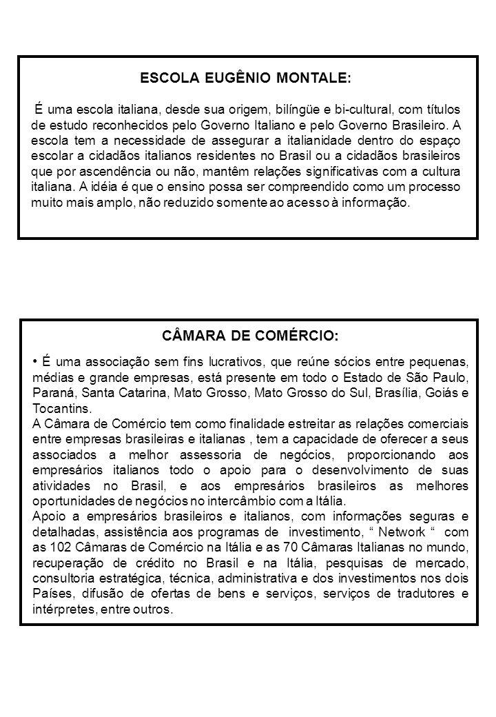 ESCOLA EUGÊNIO MONTALE: