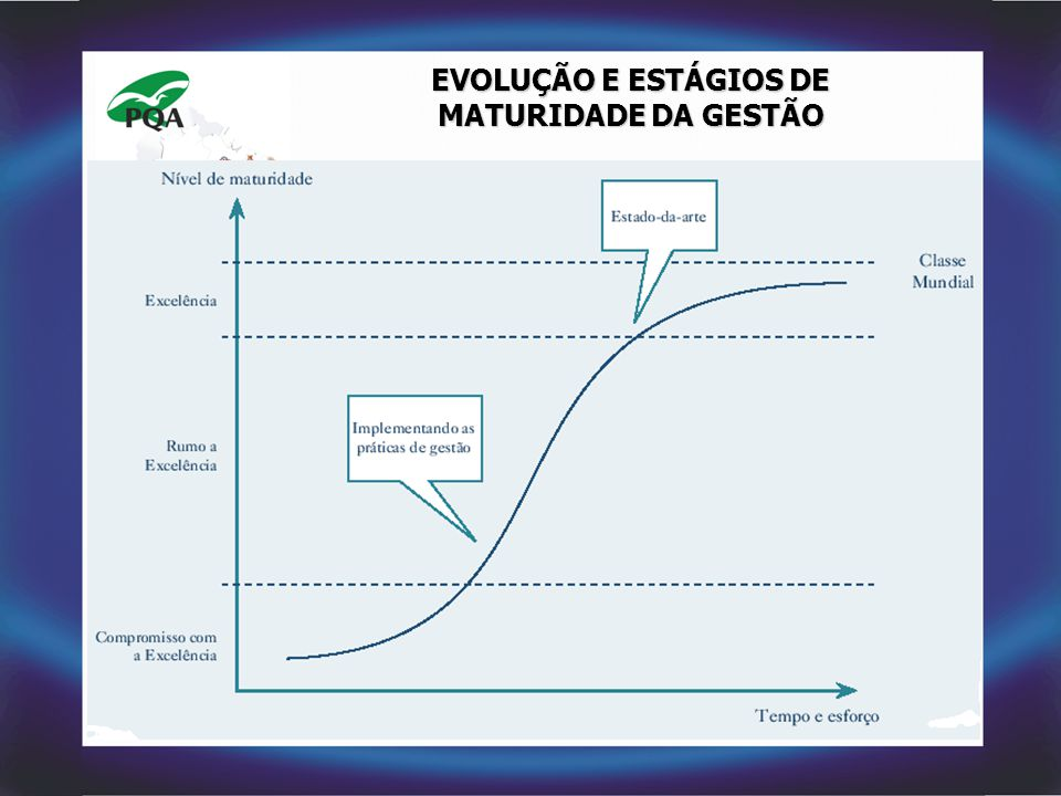 EVOLUÇÃO E ESTÁGIOS DE MATURIDADE DA GESTÃO