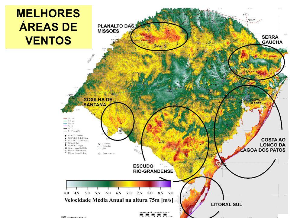 MELHORES ÁREAS DE VENTOS