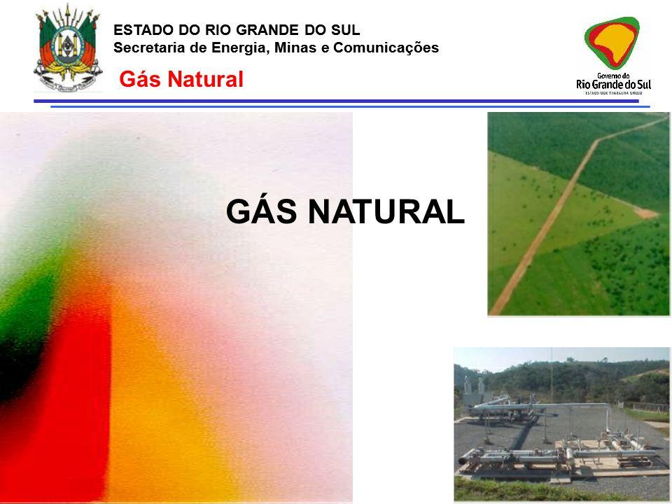 GÁS NATURAL Gás Natural ESTADO DO RIO GRANDE DO SUL