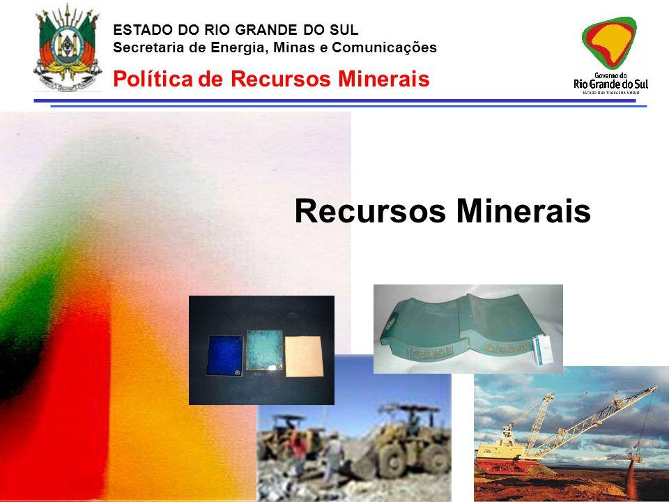 Política de Recursos Minerais