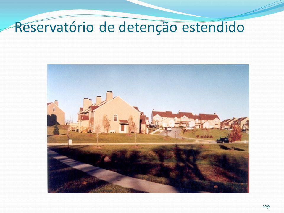 Reservatório de detenção estendido