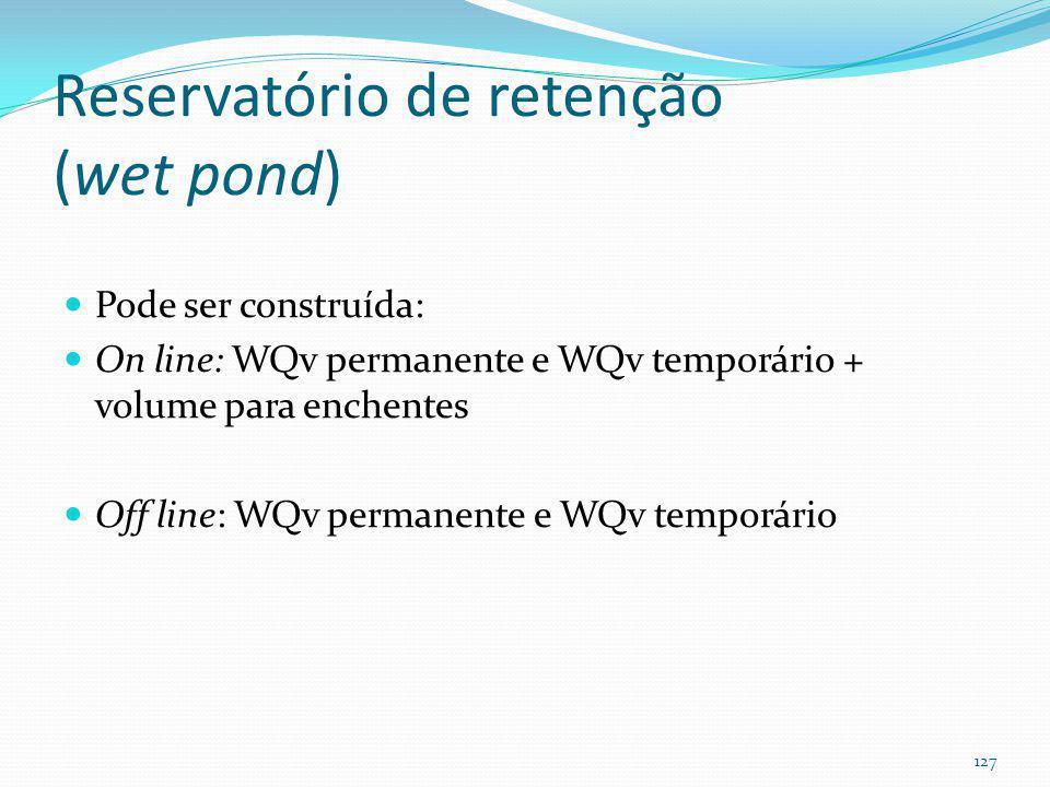Reservatório de retenção (Wet Pond) (valoriza os imóveis em até 28%)
