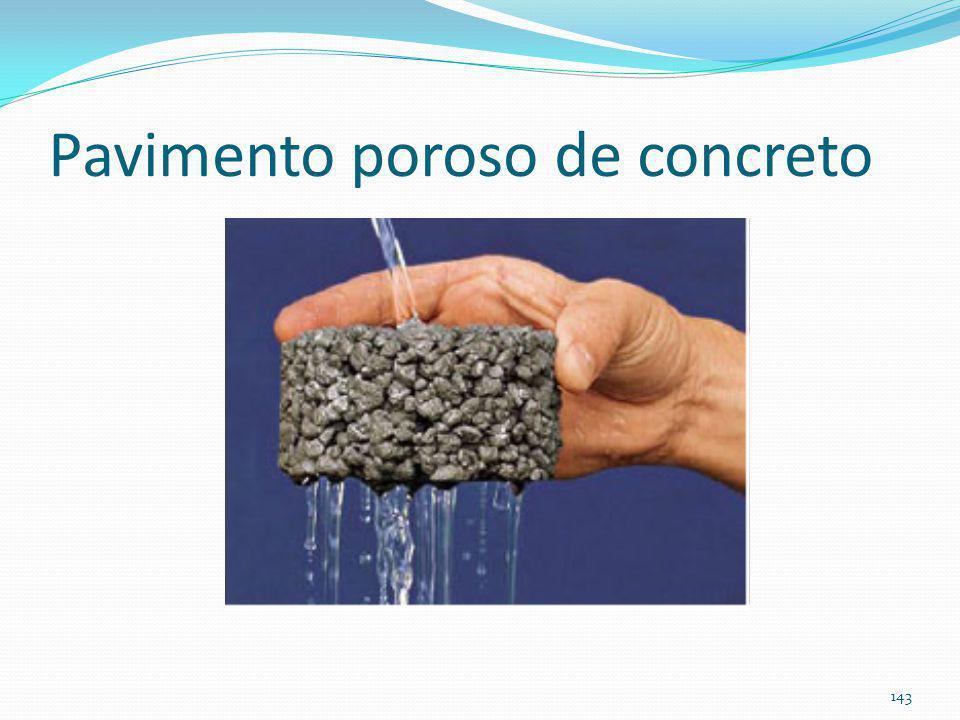 Pavimento permeável pavimento poroso de concreto BMP