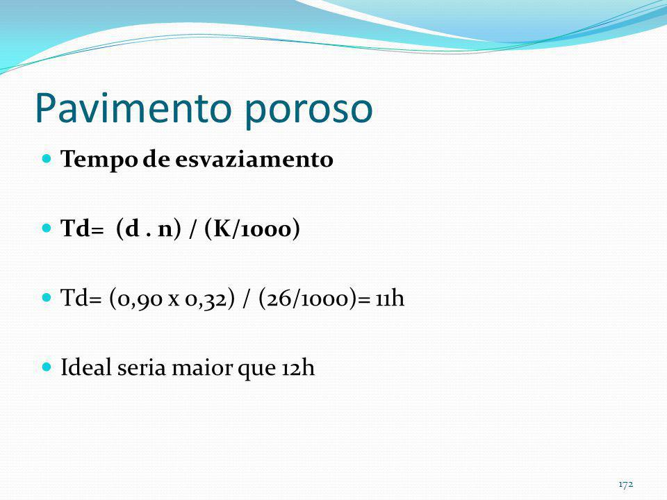 Pavimento poroso de concreto (exemplo)