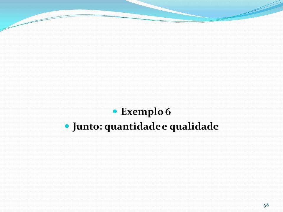 Exemplo 5- Reservatório somente para melhoria da qualidade da águas pluviais usando WQv Notar tubo de 0,05m para escoamento em 24horas.