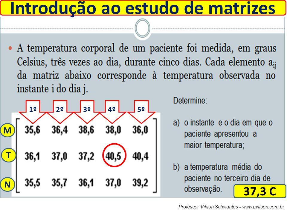 Introdução ao estudo de matrizes