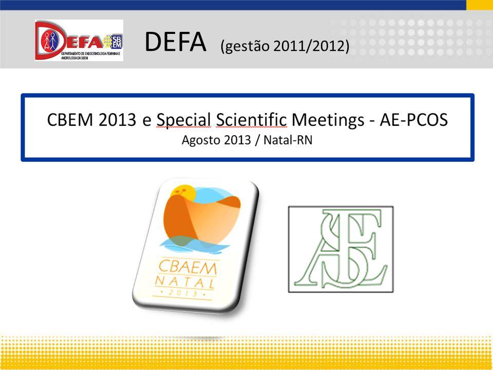 DEFA (gestão 2011/2012)