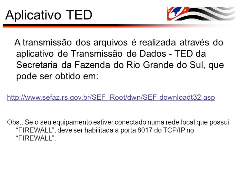 Aplicativo TED