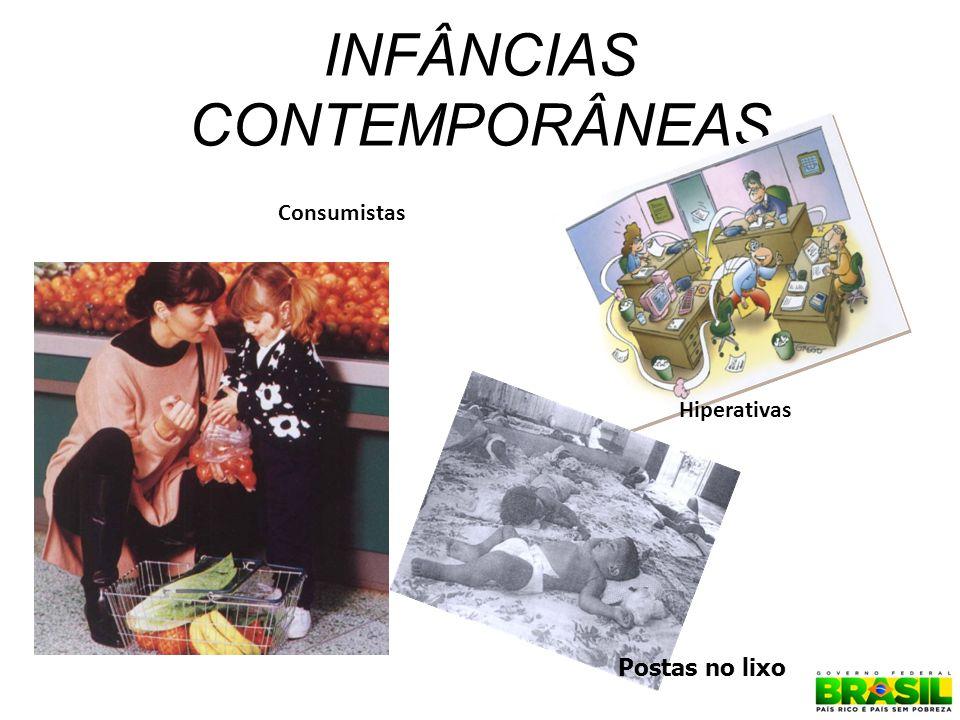 INFÂNCIAS CONTEMPORÂNEAS