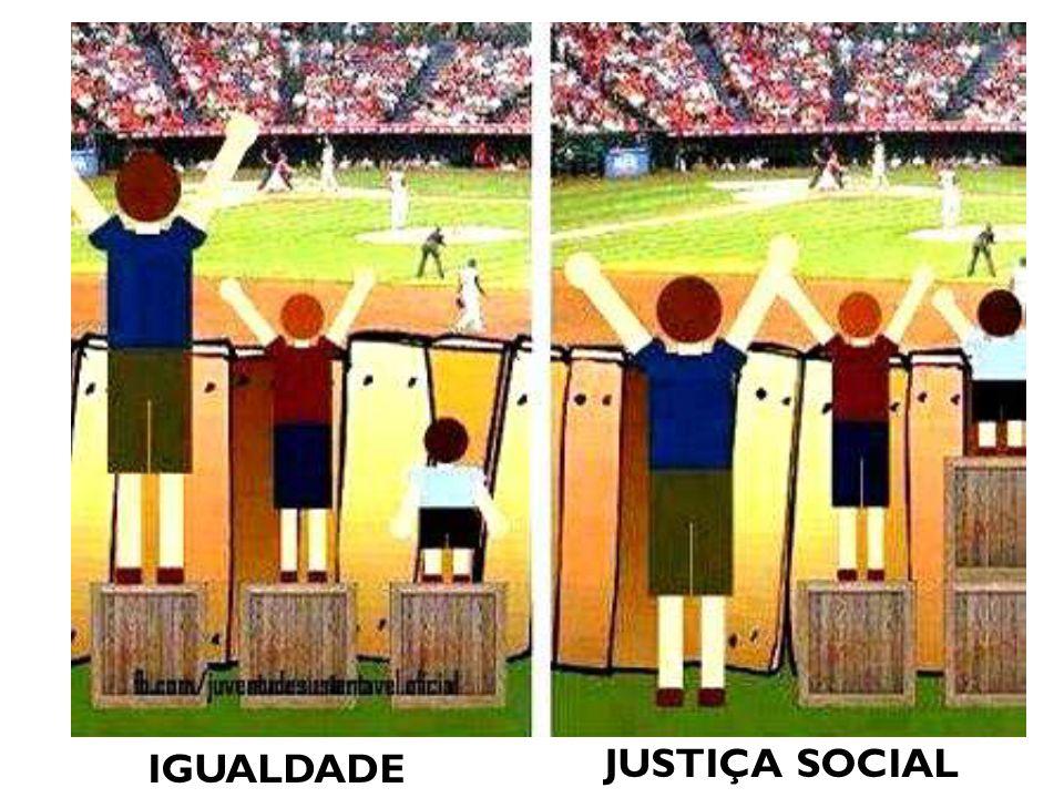 IGUALDADE JUSTIÇA SOCIAL