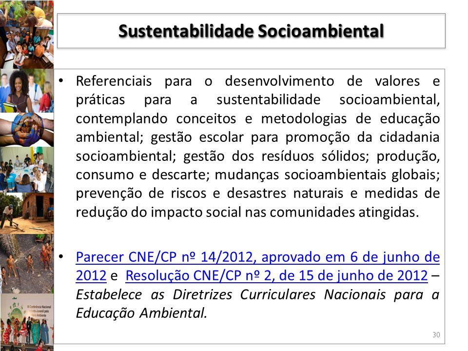 Sustentabilidade Socioambiental