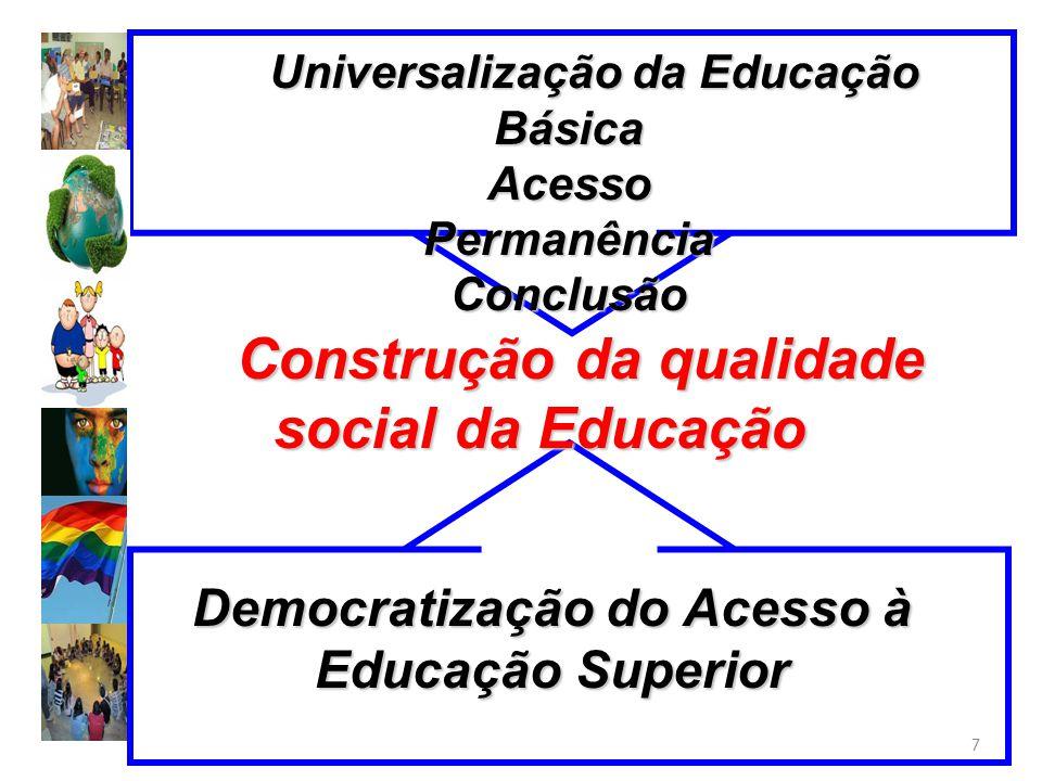 Construção da qualidade social da Educação