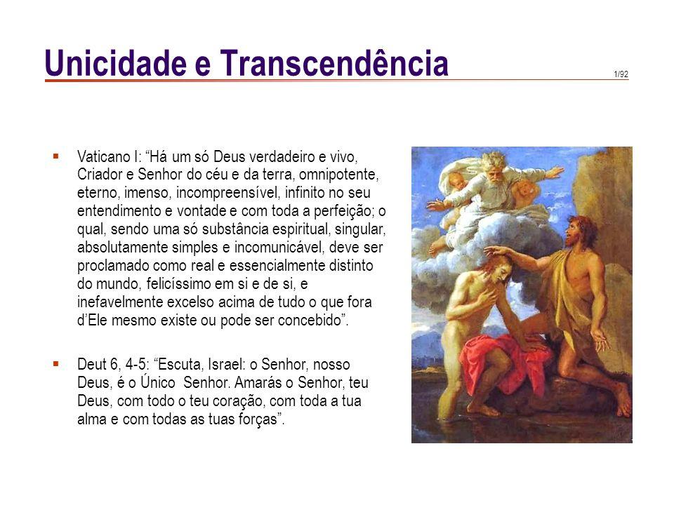 Unicidade e Transcendência