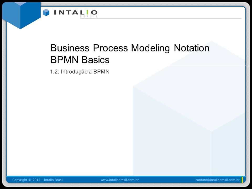 Business Process Modeling Notation BPMN Basics