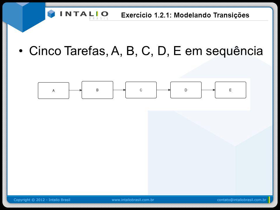 Exercício 1.2.1: Modelando Transições