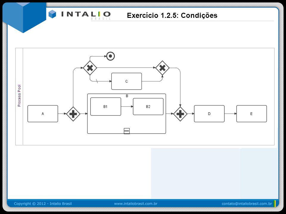 Exercício 1.2.5: Condições