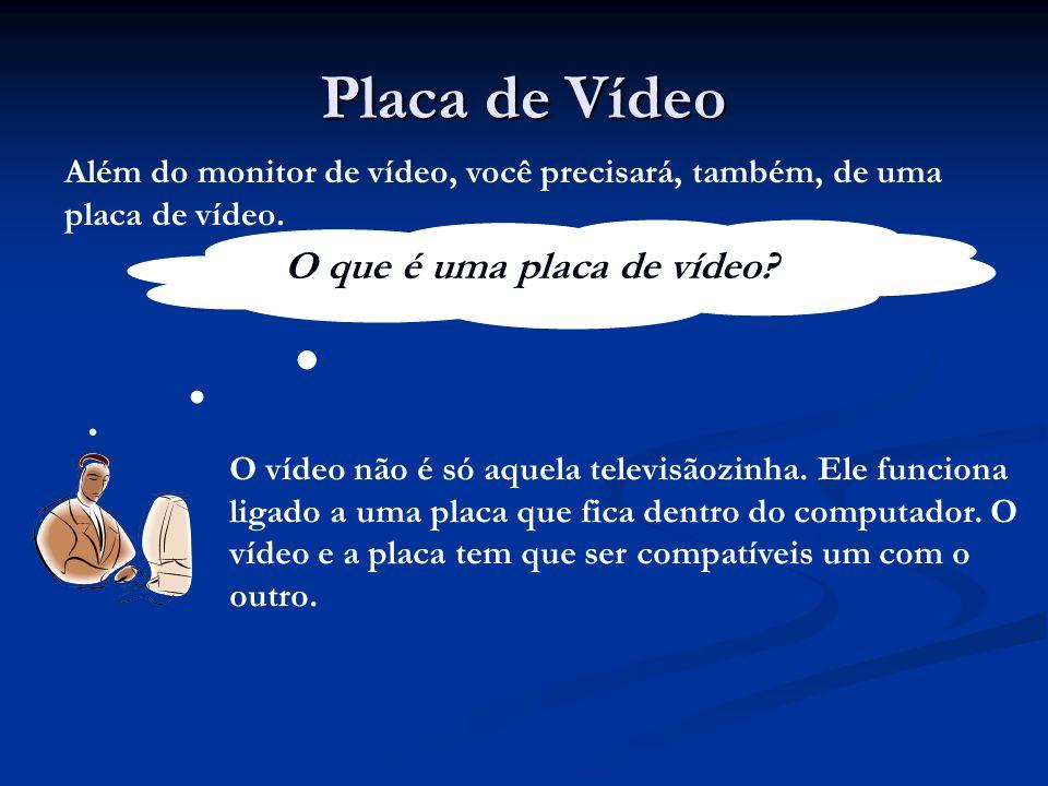 O que é uma placa de vídeo