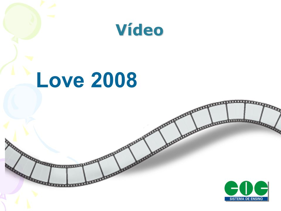 Vídeo Love 2008