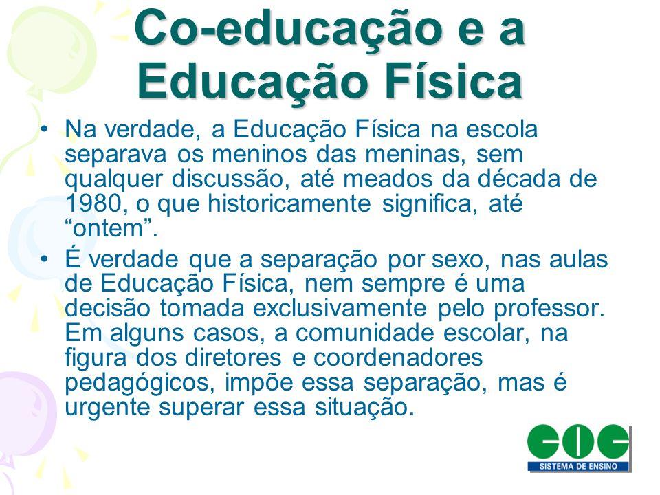 Co-educação e a Educação Física