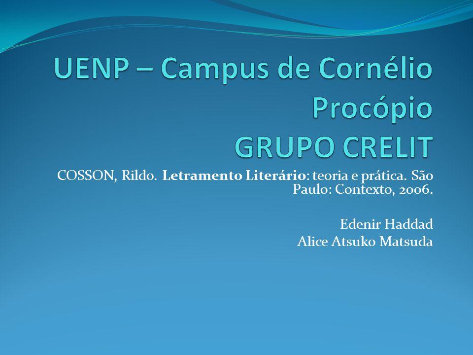 UENP – Campus de Cornélio Procópio GRUPO CRELIT