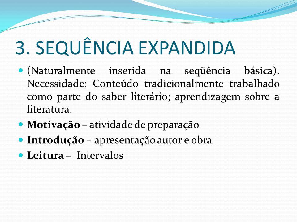 3. SEQUÊNCIA EXPANDIDA