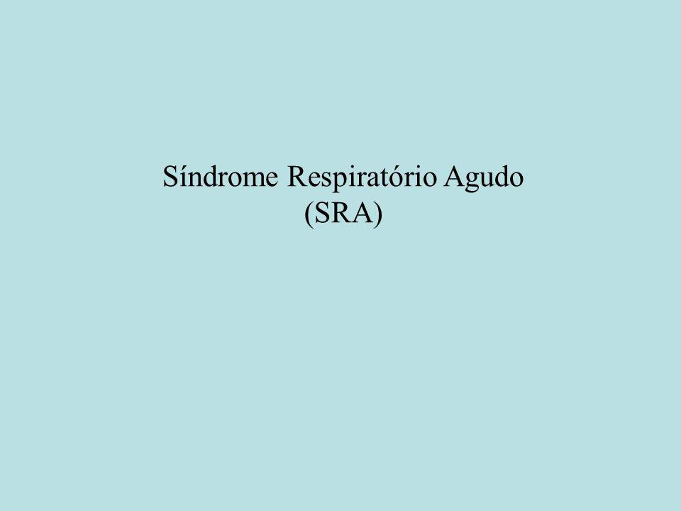 Síndrome Respiratório Agudo