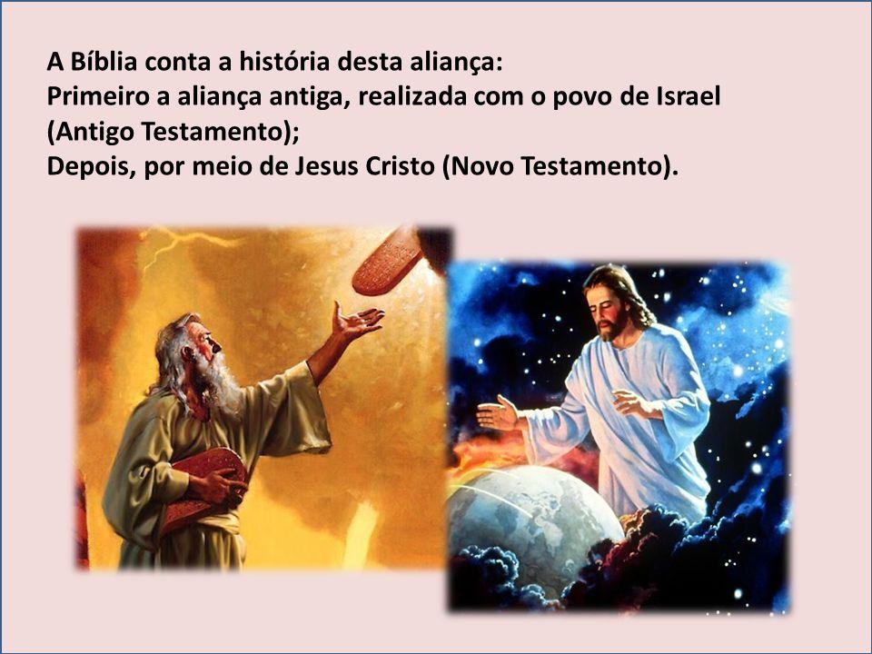 A Bíblia conta a história desta aliança: