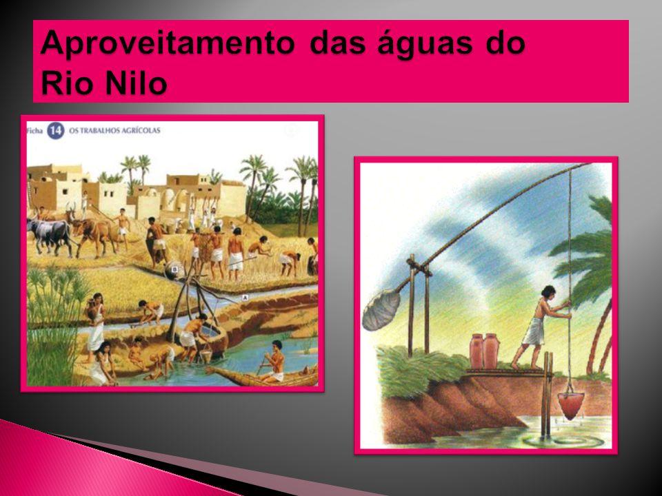 Aproveitamento das águas do Rio Nilo