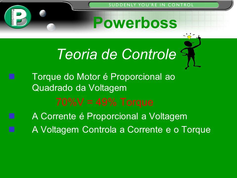 Powerboss Teoria de Controle 70%V = 49% Torque