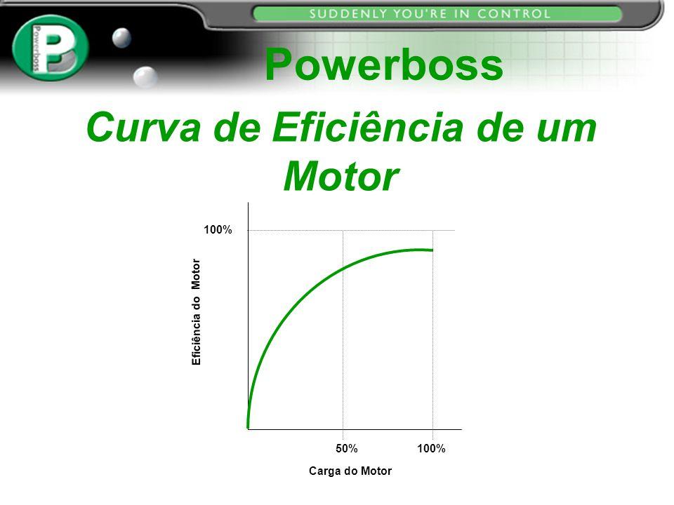Curva de Eficiência de um Motor