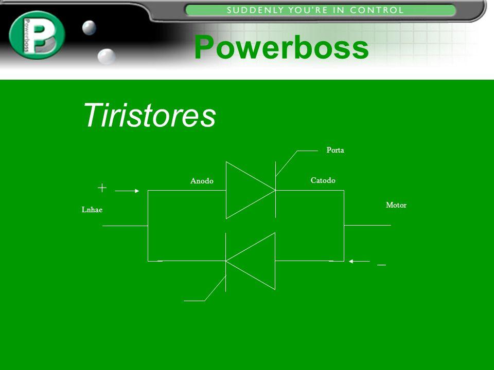 Powerboss Tiristores Porta + Anodo Catodo Motor Lnhae _