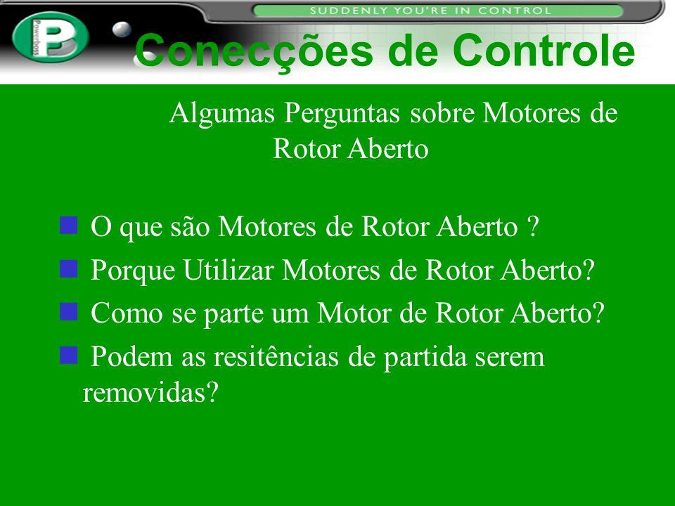 Algumas Perguntas sobre Motores de Rotor Aberto