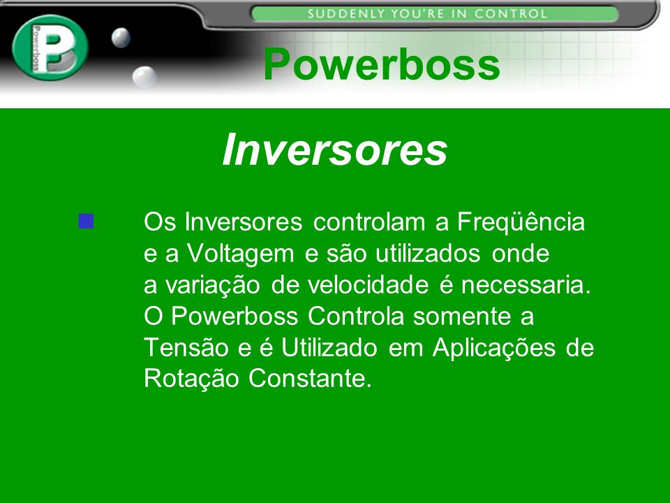 Powerboss Inversores.